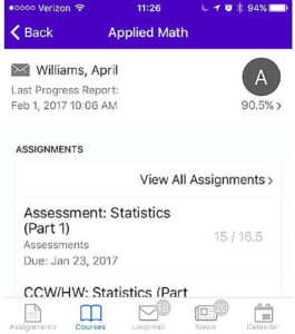 90% in Applied Math