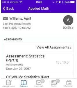 90% in Applied Math