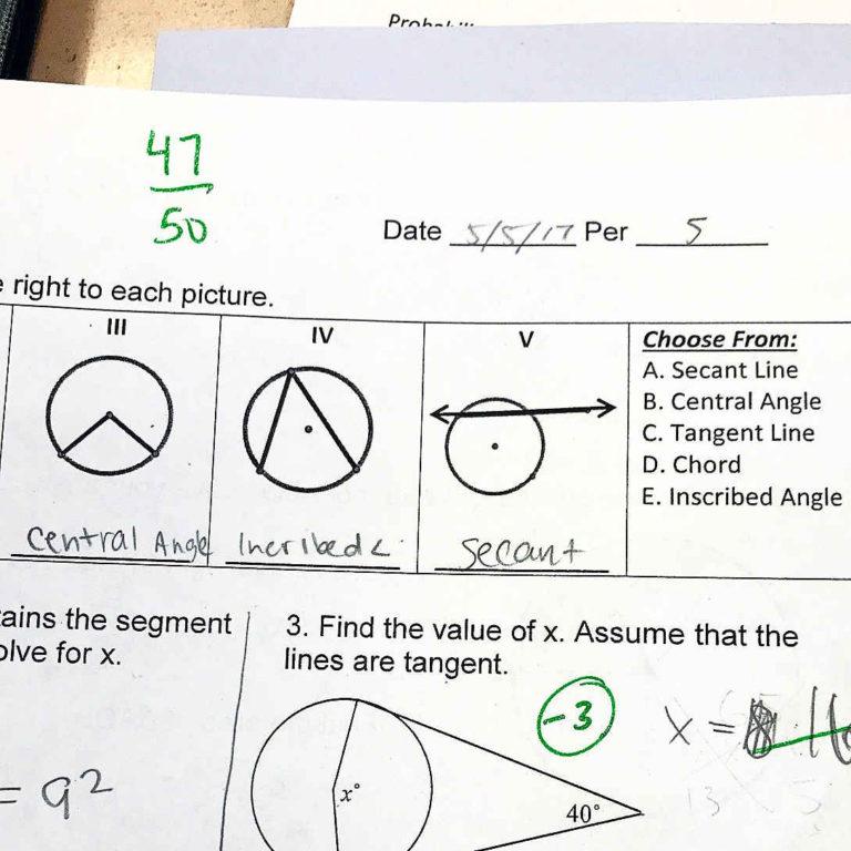 94% in Geometry